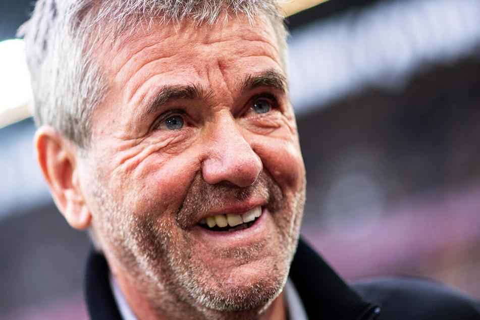 Bleibt auch in der kommenden Saison Trainer von Fortuna Düsseldorf: Friedhelm Funkel.