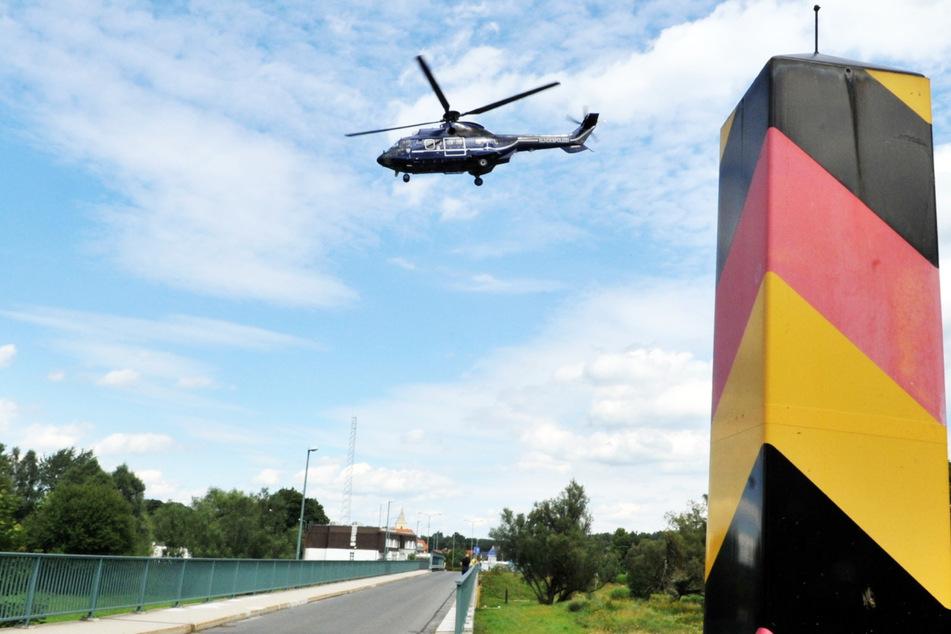 An der polnischen Grenze endete gestern eine Verfolgungsfahrt.