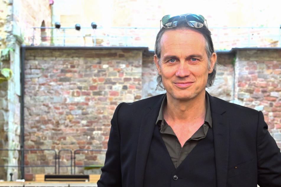 Schauspieler Ralf Bauer, aufgenommen in der Stiftsruine.