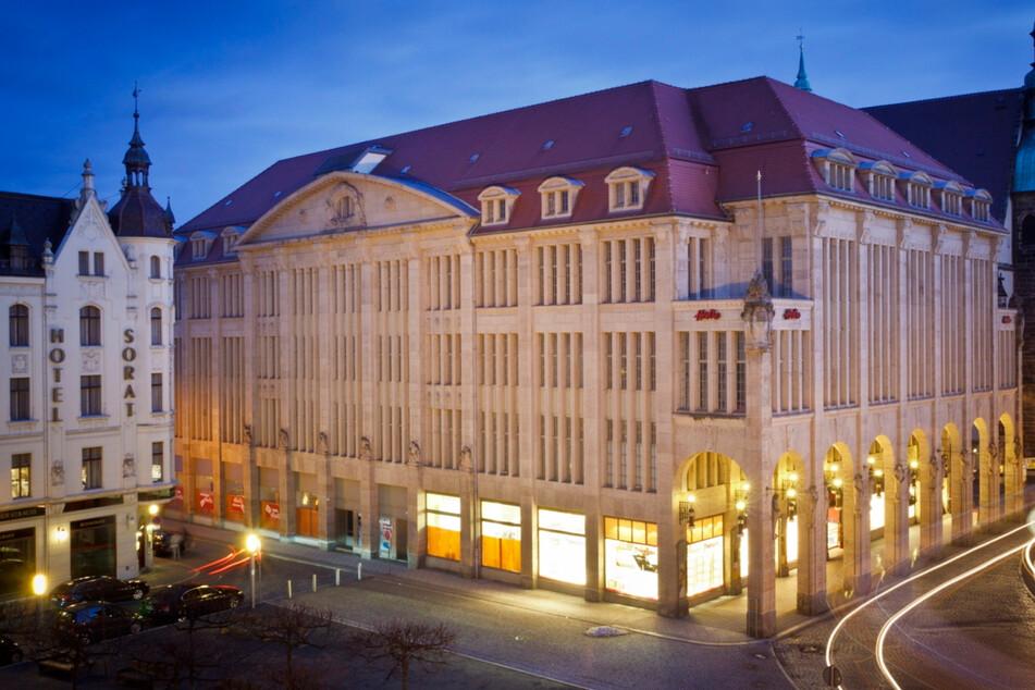 Von Stöcker gekauft: Jugendstilkaufhaus in der Görlitzer Innenstadt.