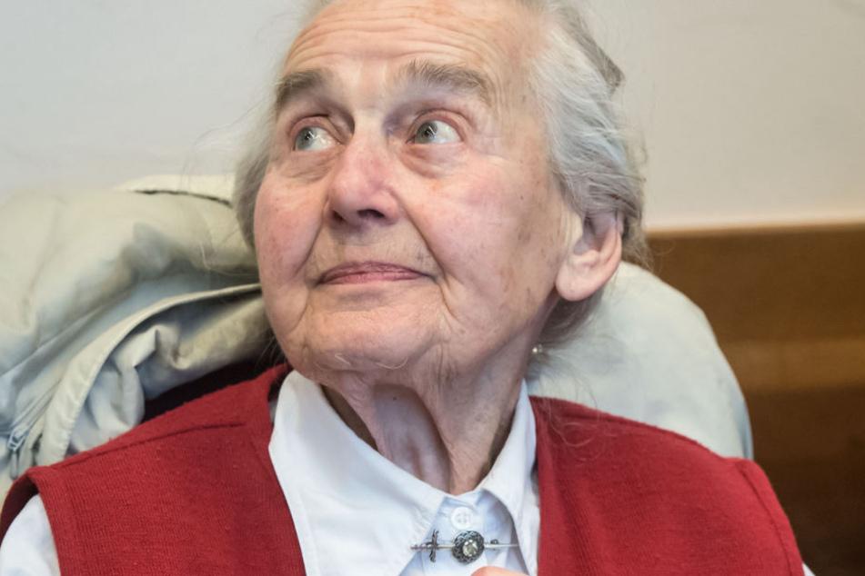Ursula Haverbeck musste sich bereits mehrfach wegen Volksverhetzung vor verschiedenen Gerichten verantworten.