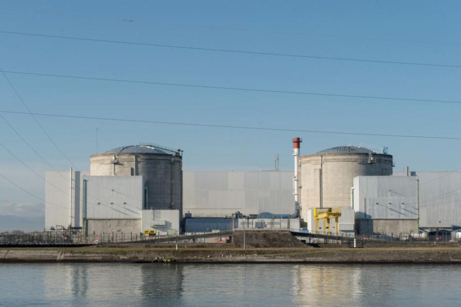 Das Atomkraftwerk Fessenheim ist in der Nähe der deutschen Grenze.