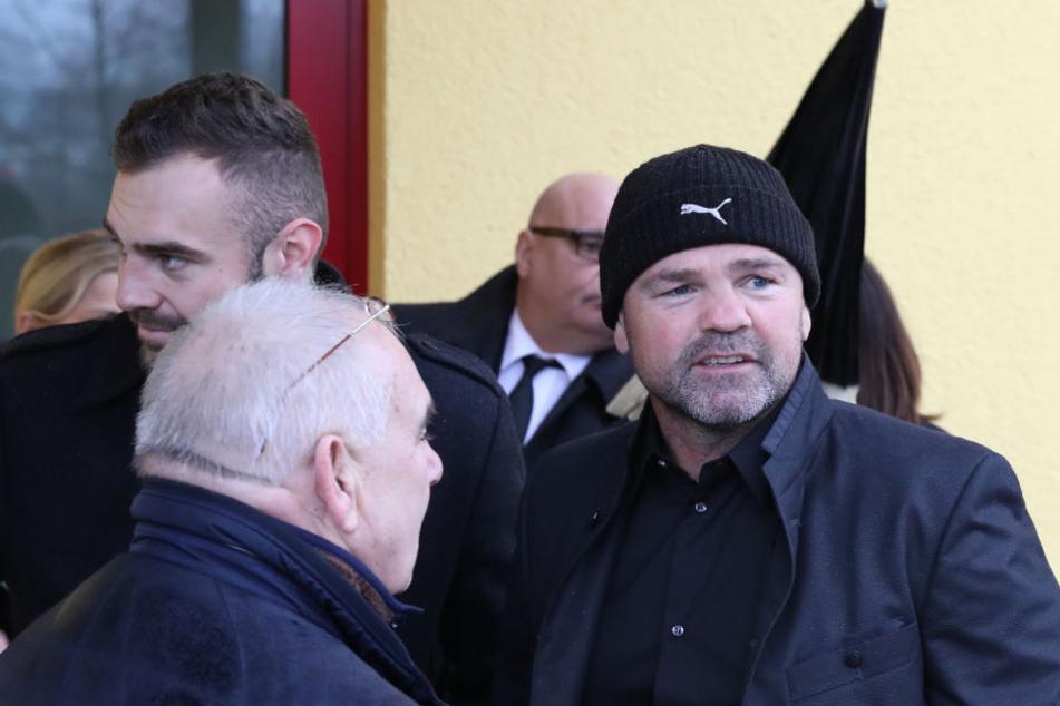 Auch Sven Ottke nahm an der Trauerfeier teil.