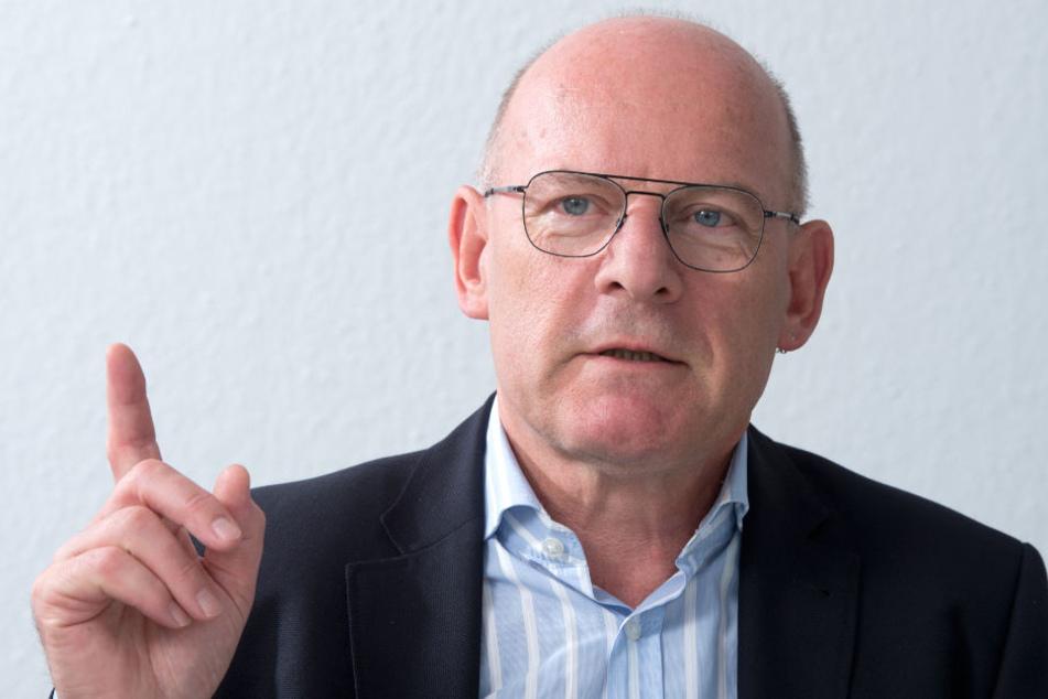 """Winfried Hermann teilt Palmers """"eigene Beobachtung"""" nicht."""