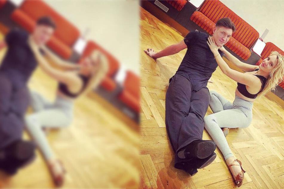 """""""Ich kann nicht mehr"""": Ist das """"Let's Dance""""-Training zu schwer für Evelyn?"""