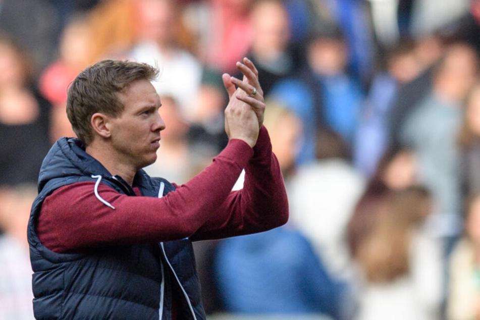 Gegen Bremen wird Julian Nagelsmann sein letztes Heimspiel als Hoffenheim-Trainer bestreiten.