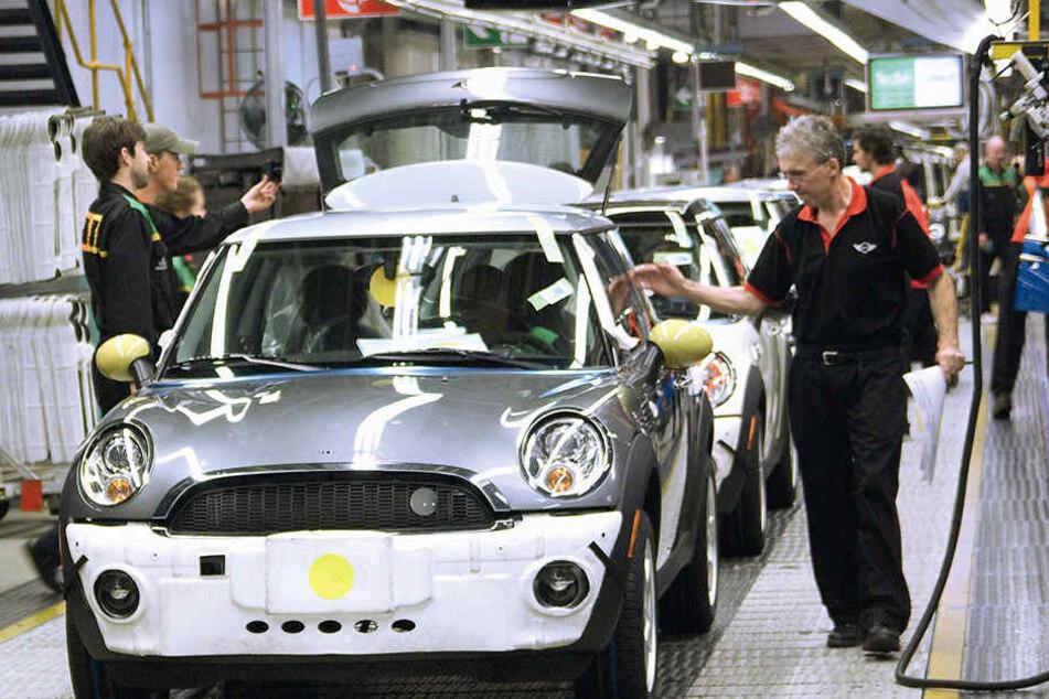 BMW will die Produktion des E-Minis in Großbritannien belassen. Ein Umzug nach Leipzig fällt damit flach.