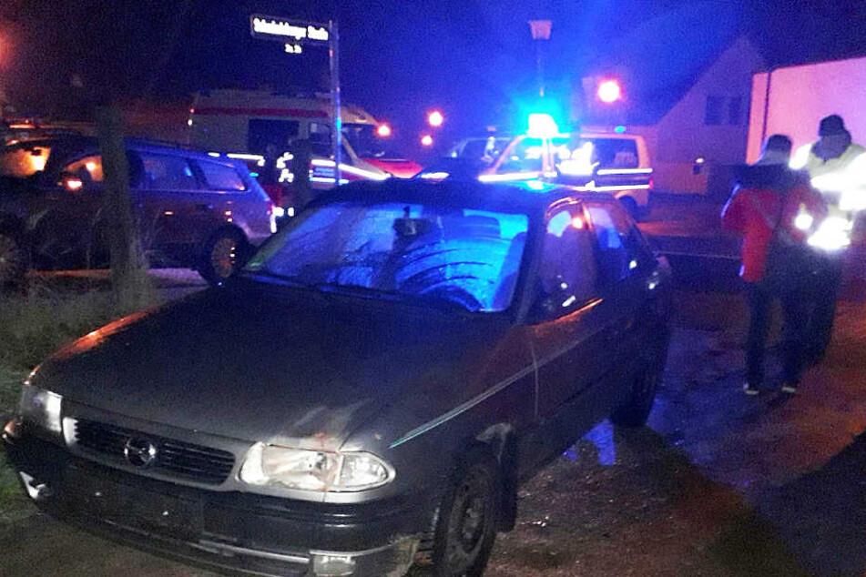 In diesem Opel Astra fuhr der betrunkene Mann die 47-Jährige tot.