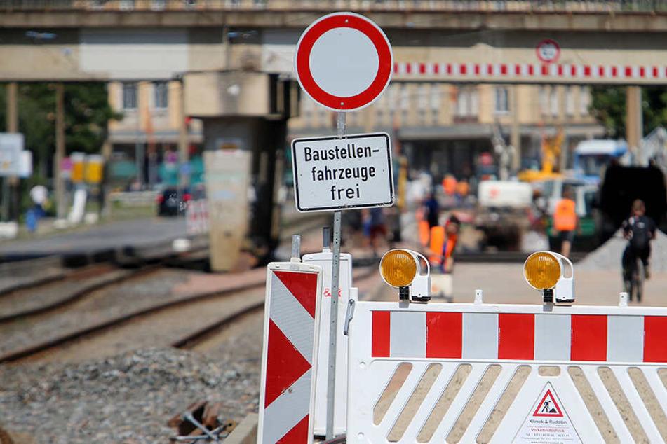 Haltestellen an Ringbuslinie werden umgebaut: Hier gibt es ab Montag Sperrungen in Chemnitz