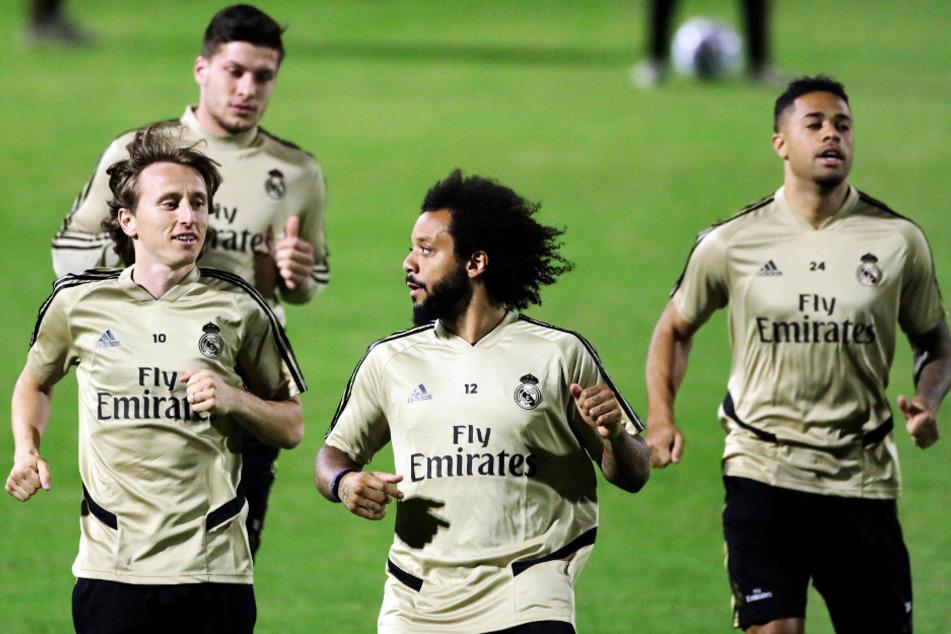 Real Madrid hat sich mit seinen Spielern auf einen Gehaltsverzicht geeinigt. (Archivbild)