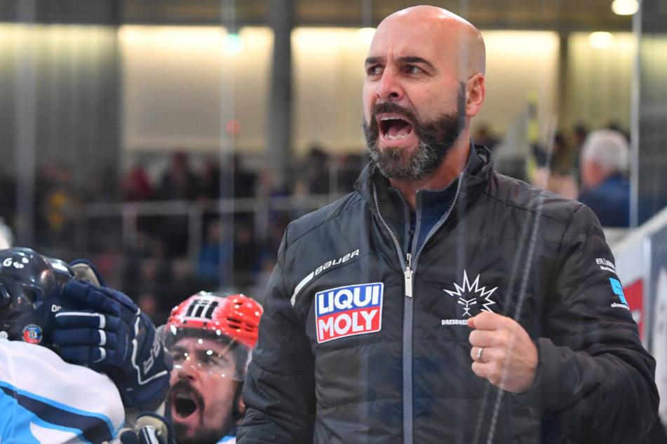 Coach Rico Rossi.
