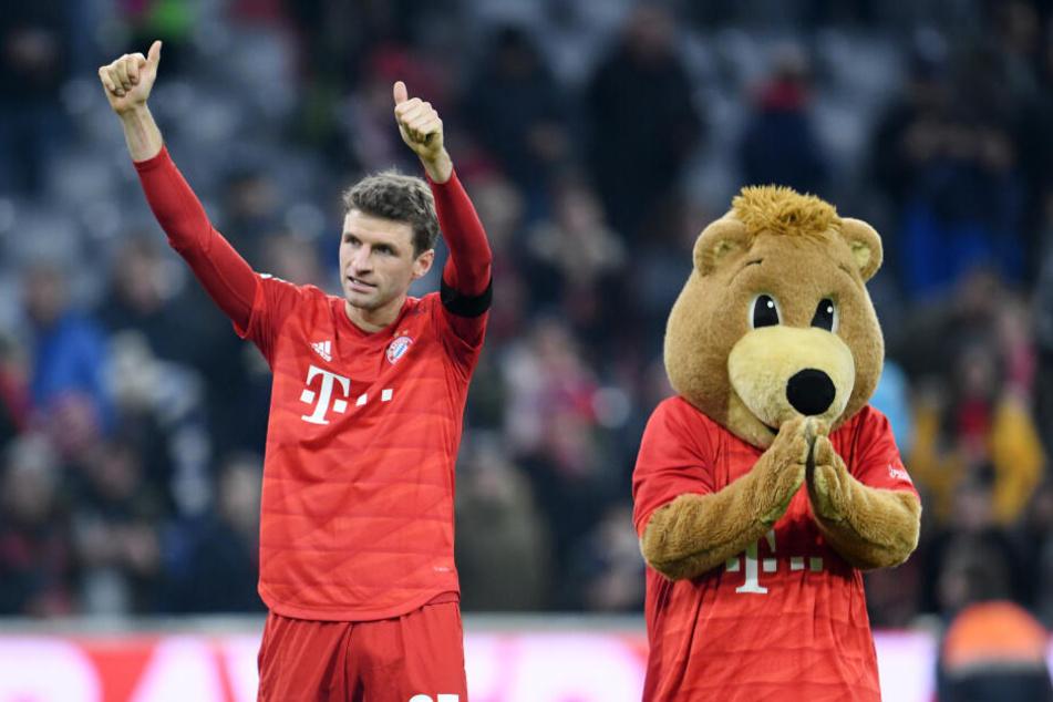 FC-Bayern-Spieler Thomas Müller könnte zu den Olympischen Spielen fahren. (Archivbild)
