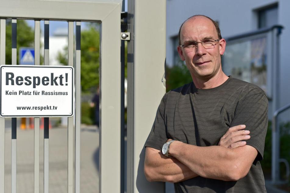 VW fordert Respekt von seinen Mitarbeitern. Betriebsrats-Chef René Utoff (46) steht dazu.