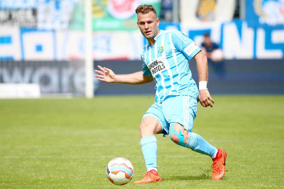 Berkay Dabanli kam Anfang Februar zum CFC, bestritt zwölf Spiele in der 3. Liga und erzielte ein Tor.
