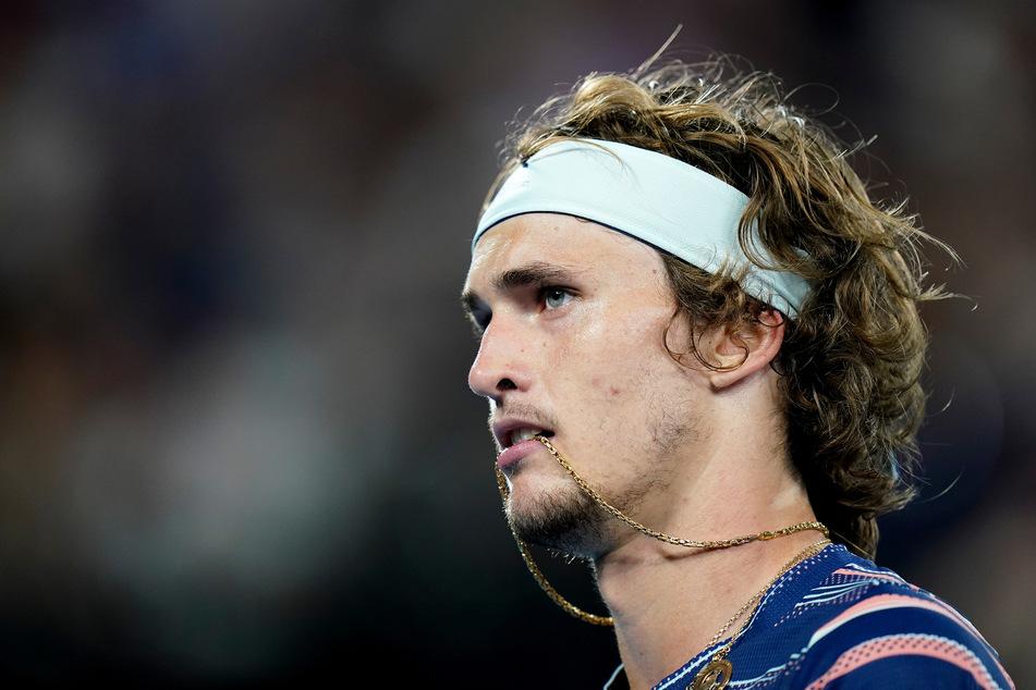 Zverev kämpft im Halbfinale der Australian Open 2020 (Foto: Dave Hunt/AAP/dpa)