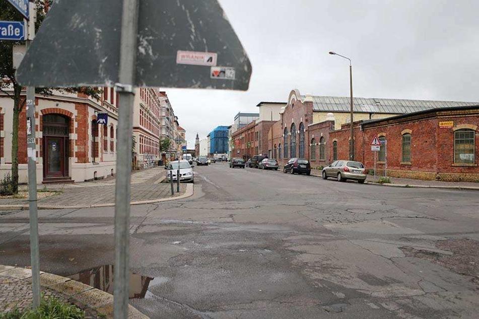 Auf der Giesserstraße wurde der Mann gestoppt.