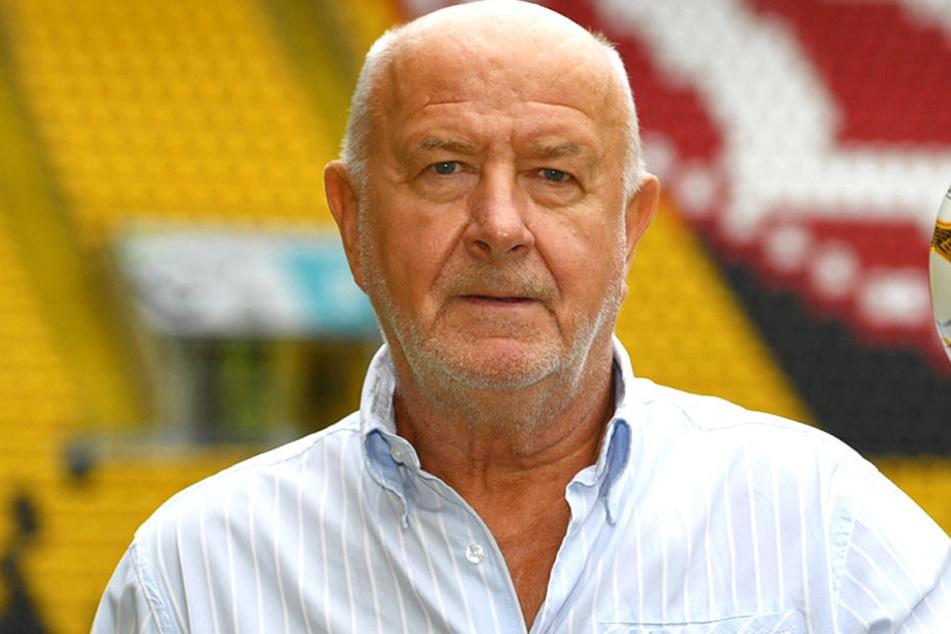 Hans-Jürgen Kreische, früher Spieler und Trainer bei der SG Dynamo Dresden.