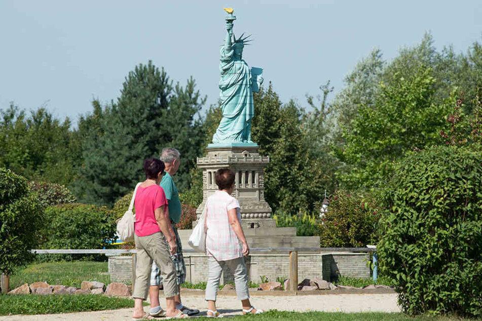 Miniwelt Lichtenstein: Die Stadt hat viel zu bieten, aber einen hohen Rentneranteil.