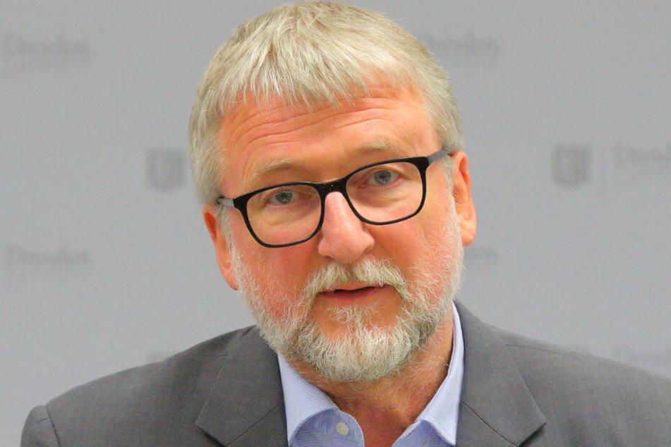 Wolfgang Socher (62) ist der Chef des Dresdner Umweltamtes.