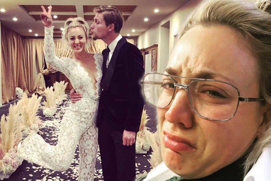 Nur wenige Tage nach Hochzeit: Serien-Star ist völlig am Ende!