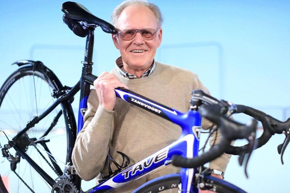 """""""Täve"""" Schur (86) ist eine Legende im DDR-Sport, für die Hall of Fame reicht das aber nicht."""
