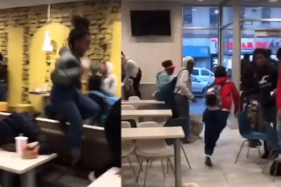 Panik bei McDonald's: Mann erlaubt sich richtig dreiste Aktion