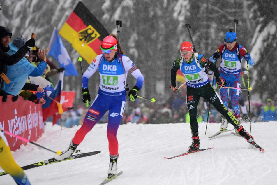 Zugpferd Biathlon: Oberhof verteidigt Schneelieferungen aus Gelsenkirchen