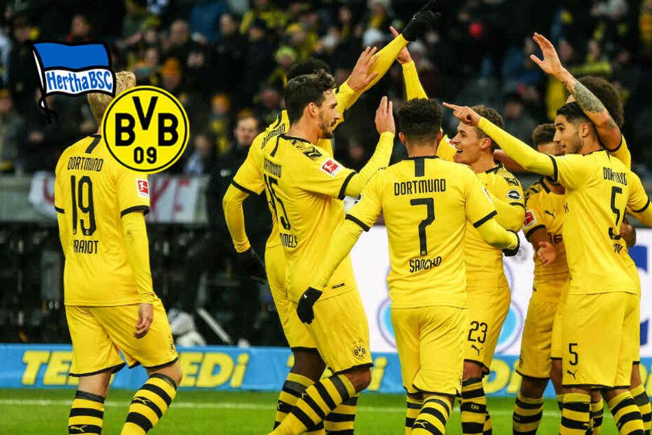 BVB bei Hertha BSC im Liveticker: Dortmund gewinnt in Unterzahl!