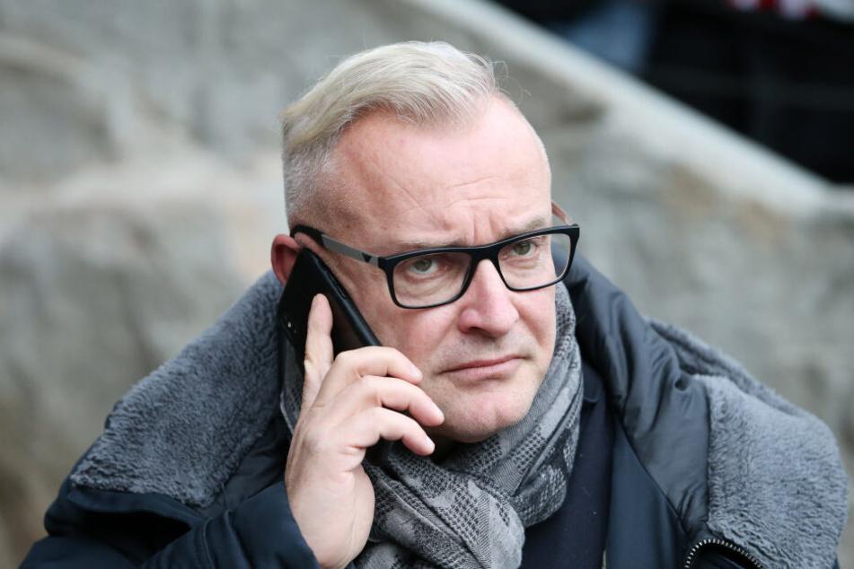 FCE-Geschäftsführer Michael Voigt hätte gegen erlaubtes und kontrolliertes Abbrennen von Pyro nichts einzuwänden.