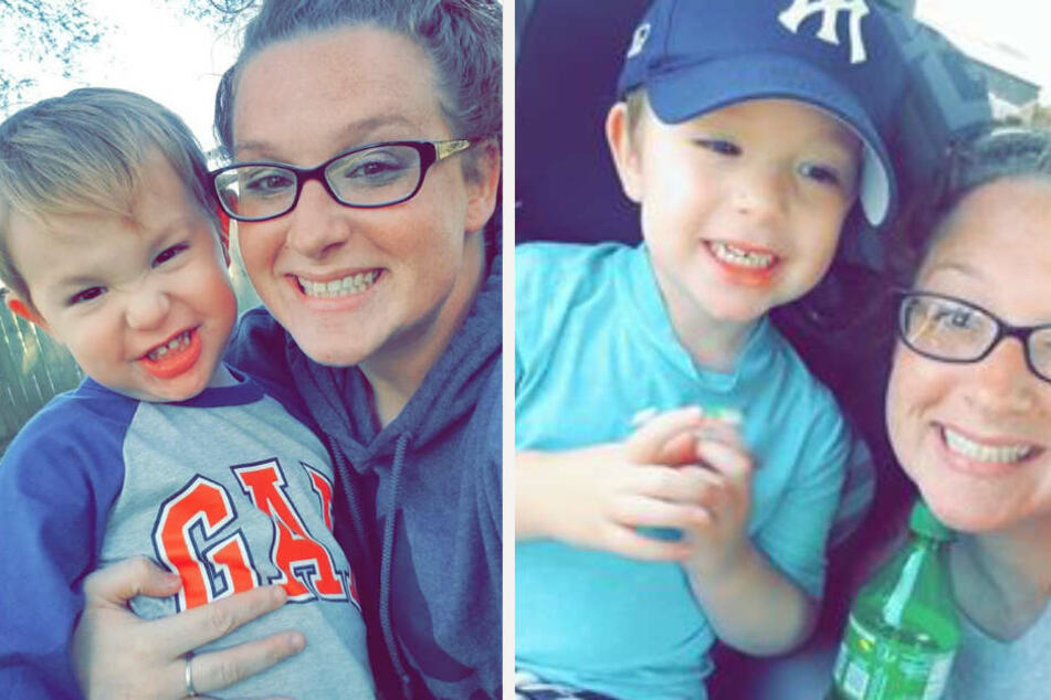 Heute geht es der 28-Jährigen und ihrem Sohn Parker prächtig, sie geht in ihrer Mutterrolle voll auf.
