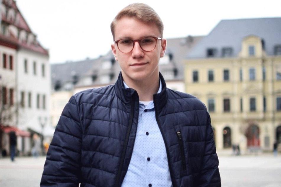 FDP-Landtagskandidat Leon Köhler (18) erstattete Anzeige wegen Volksverhetzung.