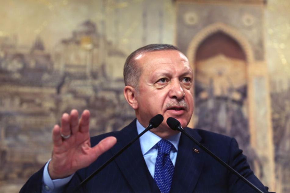 Trotz Abkommen mit der EU: Recep Tayyip Erdogan, Präsident der Türkei, hat die Grenzen für die Flüchtlinge geöffnet.