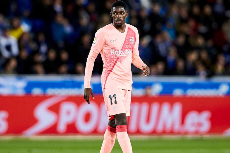 Der FC Bayern München soll an Ousmane Dembélé interessiert sein.