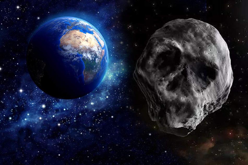 Asteroiden & Meteoriten: Er kehrt zurück! Totenkopf-Asteroid schrammt erneut an unserer Erde vorbei