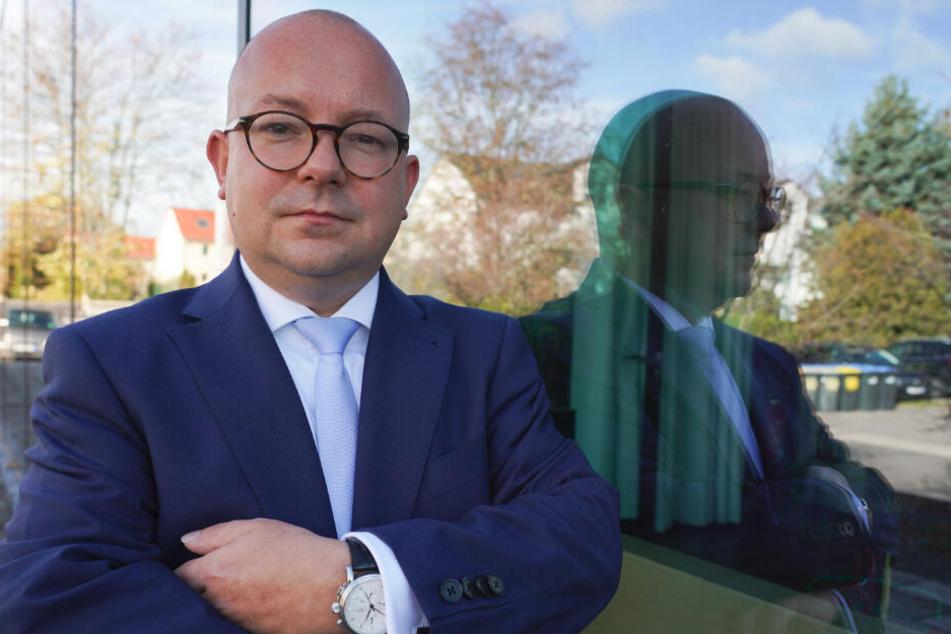 Frank Müller-Rosentritt, Chef der Sachsen-FDP.