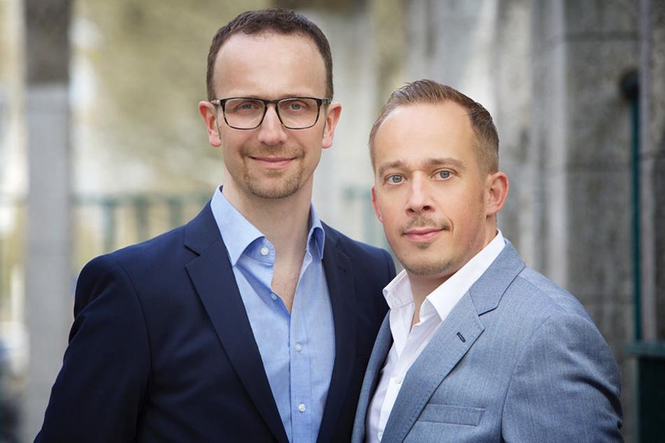 Martin Enk (r.) und Frank Pieper.