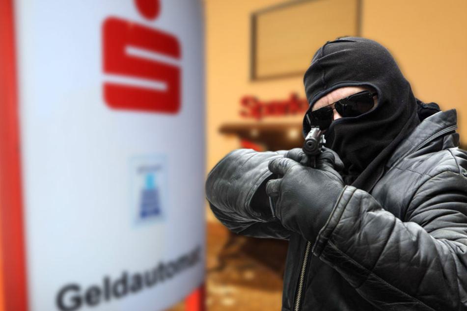 Drei maskierte Männer haben eine Sparkasse im Wartburgkreis überfallen. (Symbolbild)