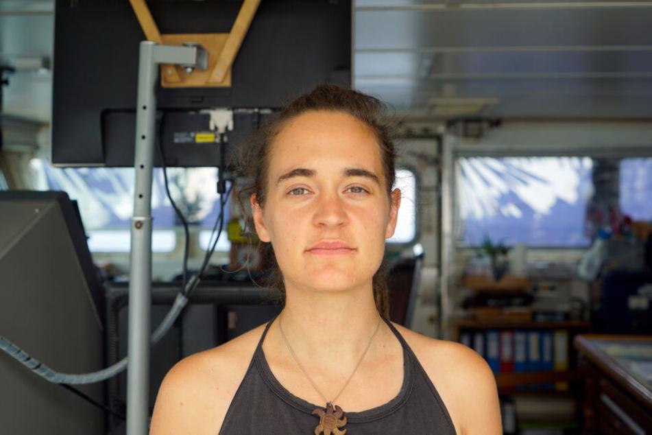 Seawatch-3-Kapitänin Carola Rackete wurde verhaftet.