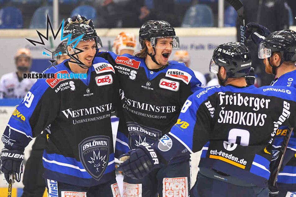 Grandioser Eislöwen-Sieg in der Overtime nach 1:4-Rückstand!