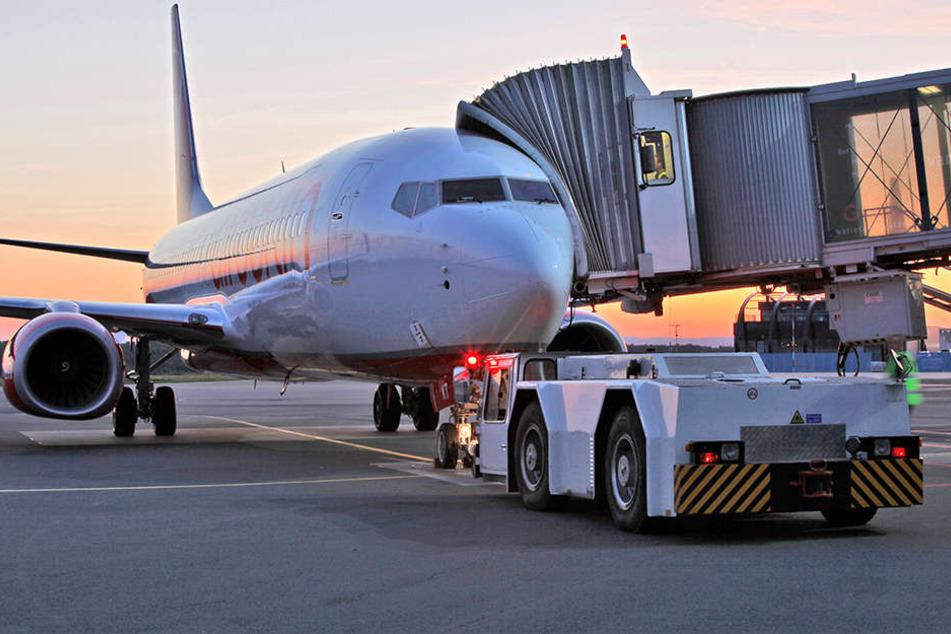 Der Flughafen Paderborn könnte bald für Rückführungen genutzt werden.
