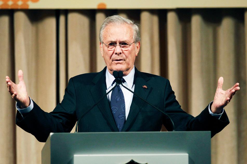 Der ehemalige US-Verteidigungsminister Donald Rumsfeld starb im Alter von 88 Jahren. (Archivbild)