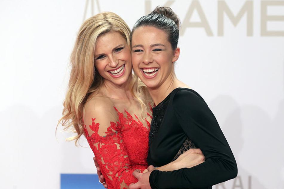 Die meiste Zeit sind Michelle und Aurora ein Herz und eine Seele.