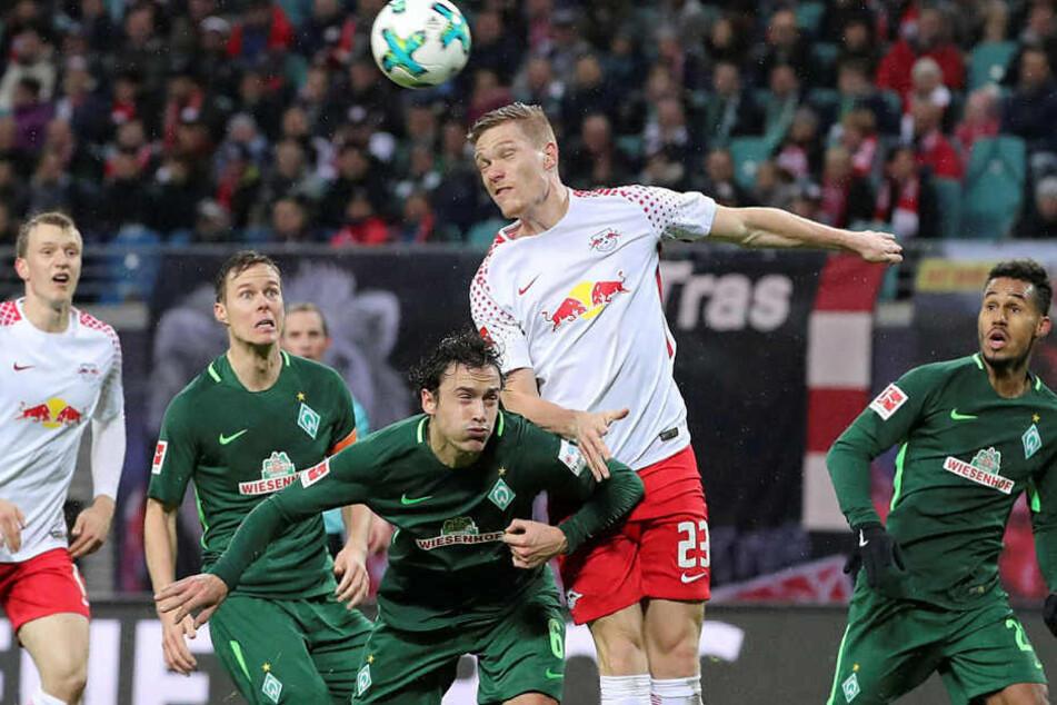 Die beiden bisherigen Heimspiele gegen Bremen konnte RB Leipzig jeweils gewinnen (2:0, 3:1).