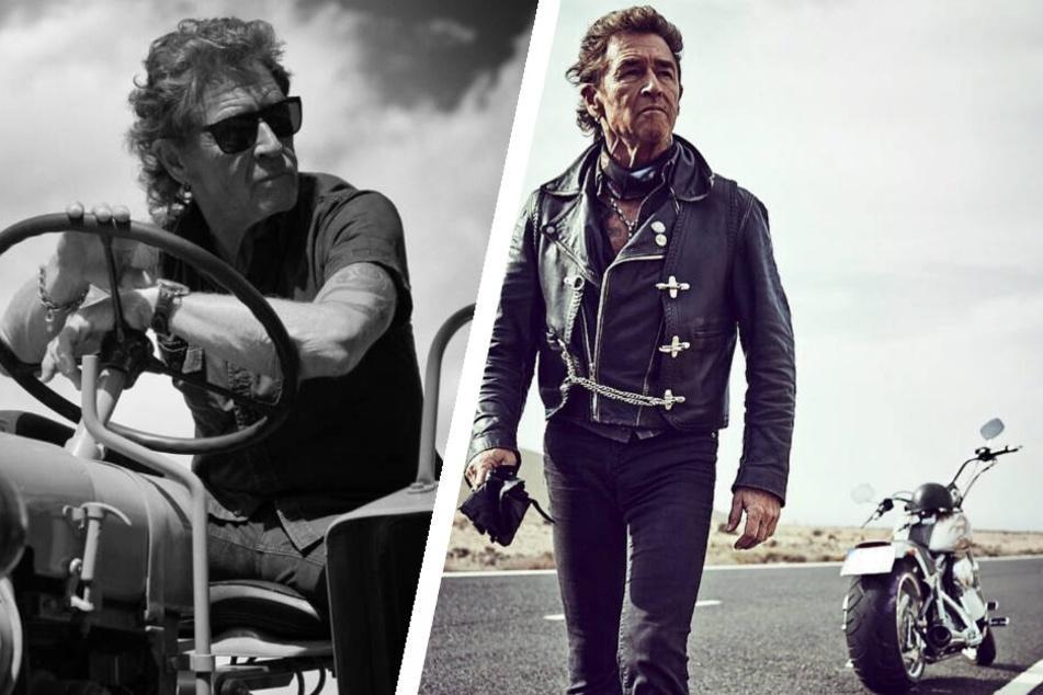 Peter Maffay tauscht heiße Harley gegen tuckernden Traktor