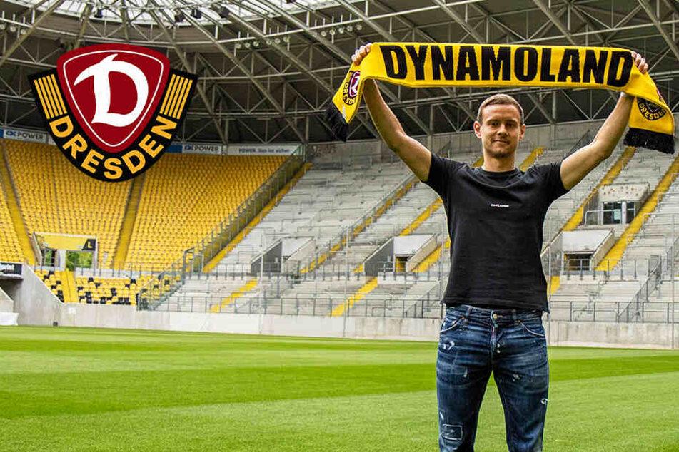 Darum ist Dynamo-Neuzugang Chris Löwe der etwas andere Fußball-Profi!