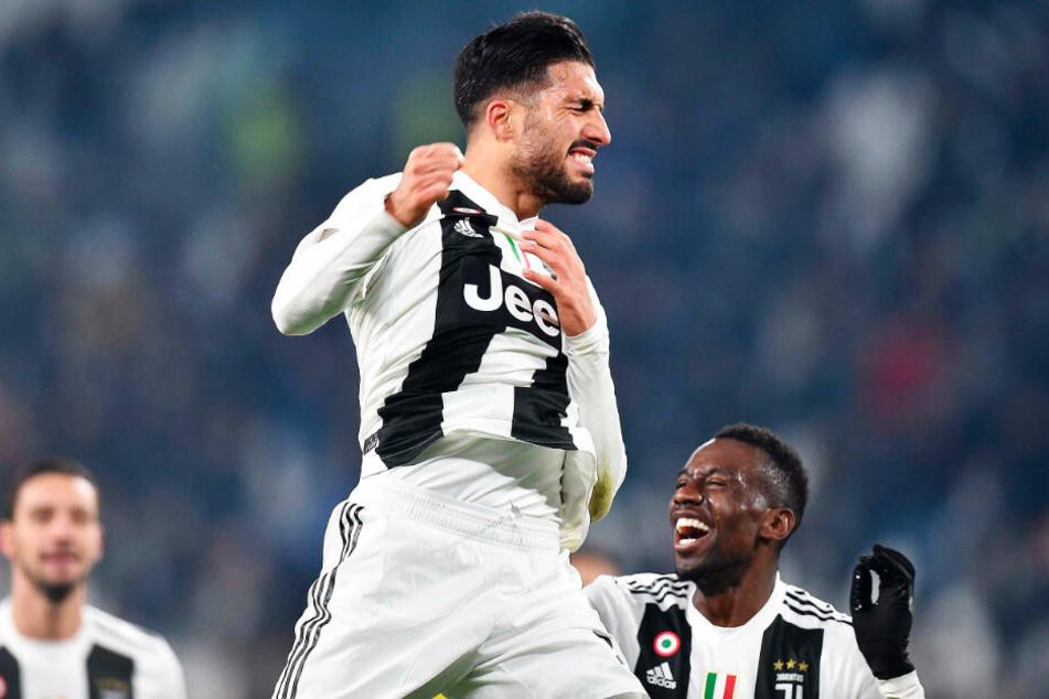 So jubeln konnte Emre Can für Juventus Turin in dieser Saison noch gar nicht.