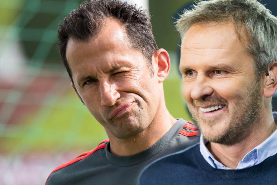 FC Bayern Sportdirektor Hasan Salihamidzic stört sich an Sky-Experte Dietmar Hamann (45). (Bildmontage)