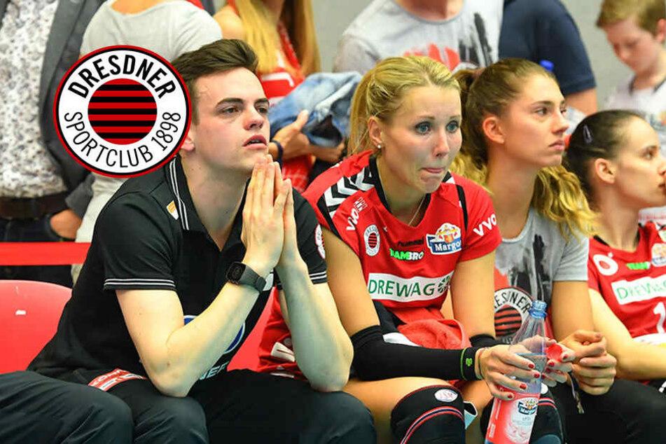 Aus im Viertelfinale! Bittere Tränen beim Dresdner SC
