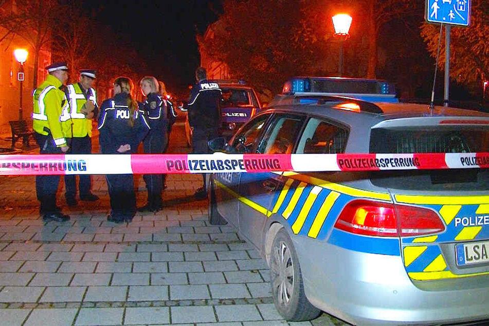 Die Polizei rückte nach der Bombendrohung am Mittwoch zur Gemeinschaftsschule Wanzleben aus.