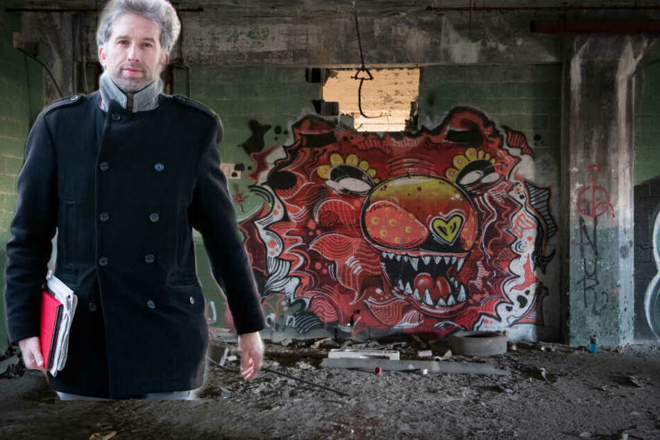 Eine neue Folge mit Hilfssheriff Palmer! Diesmal: Kampf den Tübinger Graffiti-Gangs